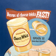 A Cheez Whiz ad from 1952.