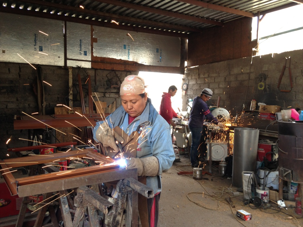 The Chavez family of Ciudad Juárez started their own welding shop in their backyard thanks to a series of micro loans partially funded by U.S. tax dollars.