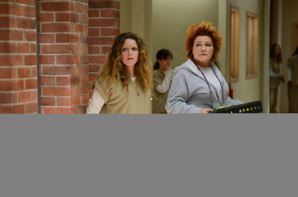 """""""Orange is the New Black,"""" where the laughs are sometimes few and far between, was placed in the comedy category, where it earned an Emmy nomination."""