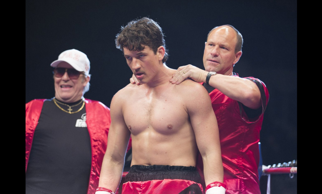 Miles Teller and Aaron Eckhart star in the new boxing drama