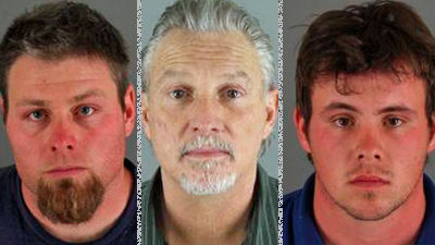 Darryll Jeters, Lonnie Remmers and Nick Craig have been charged with torturing a 13-year-old boy in Riverside County.