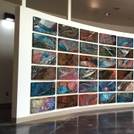 """Volcanic Basin and Range,"" by Laddie John Dill, at the Bakersfield Museum of Art"