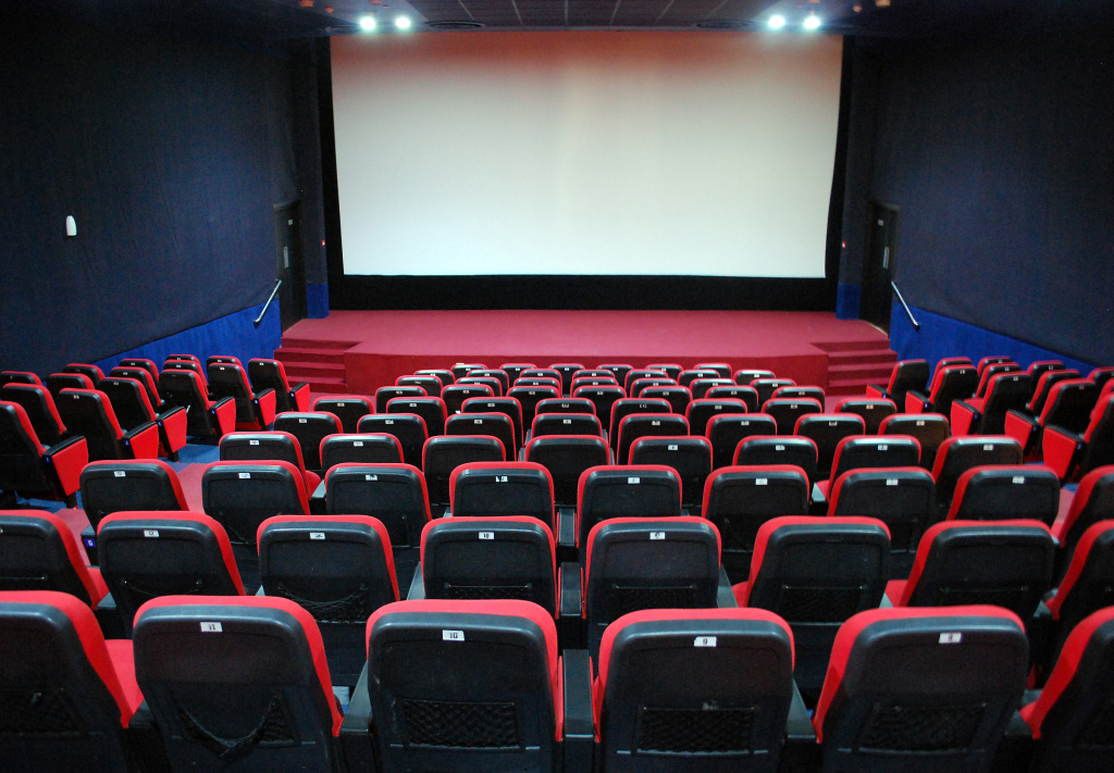 A picture shows of a screening hall at the Al-Feel multiplex cinema in the eastern Libyan city of Benghazi on October 7, 2011.