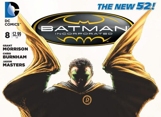 From the cover to Batman Incorporated #8.