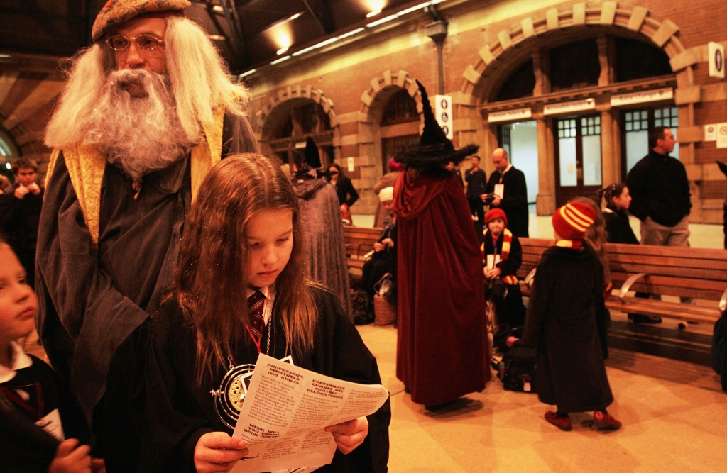 Harry Potter fans prepare to take a steam train from Sydney Central Station to a secret location for the much anticipated unveiling of the final novel by author J.K. Rowling.