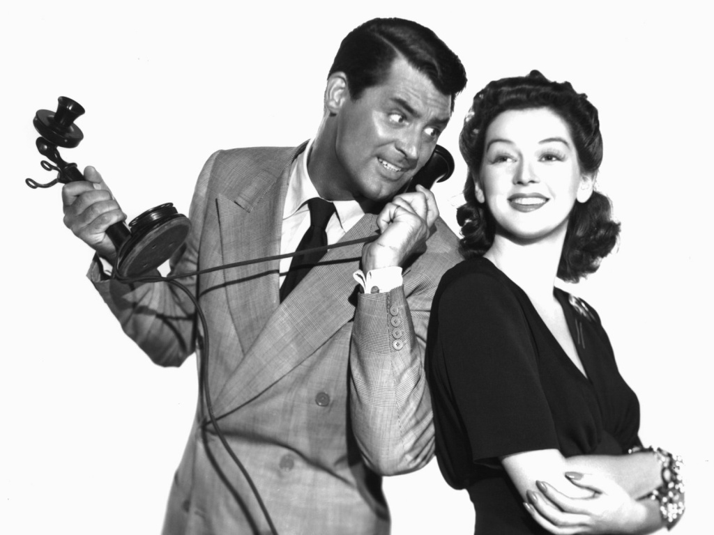 Cary Grant and Rosalind Russell starred in the 1940 farce His Girl Friday, where a newspaper editor tries to win back his ex-wife, an ace reporter.