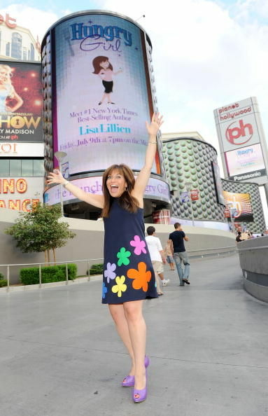 Lisa Lillien poses for photos at Planet Hollywood Casino Resort on July 9, 2010 in Las Vegas, Nevada.