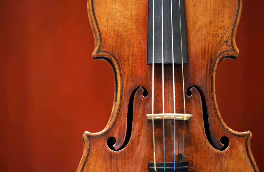 A 1729 Stradivari known as the