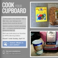 NPR's Cook Your Cupboard