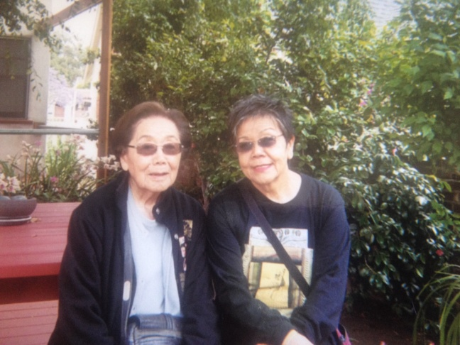 Bessie and Edie Shigekawa of West Los Angeles