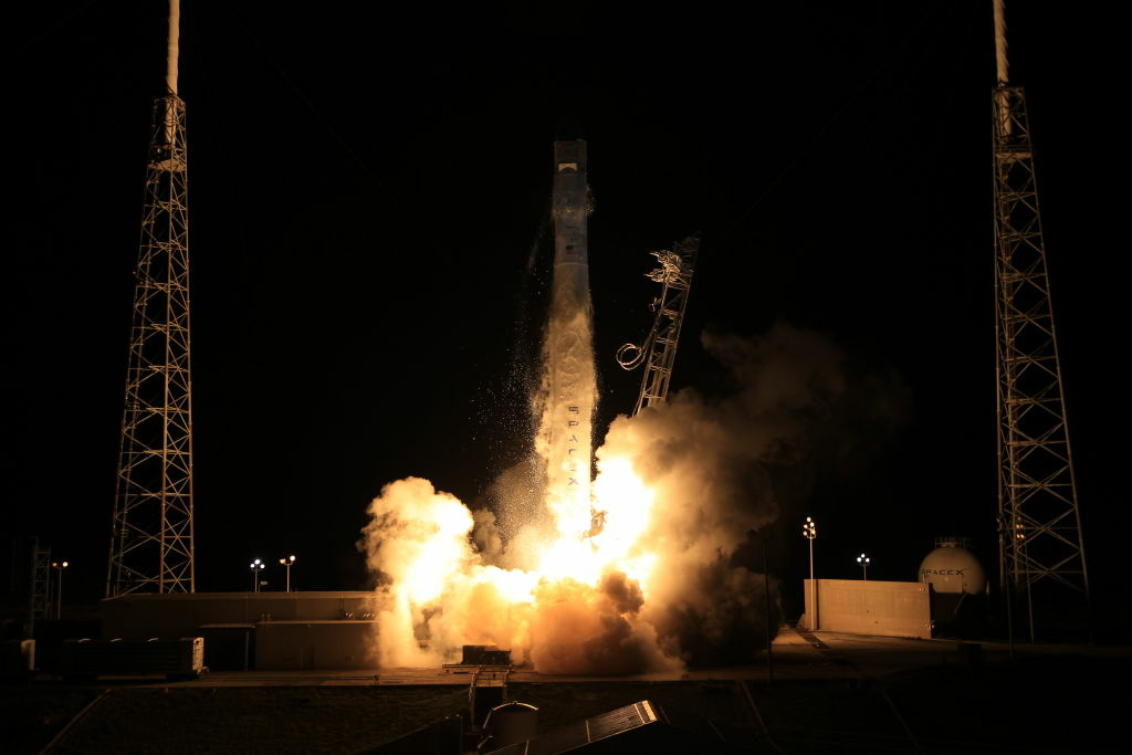 Hello  Commercial Space  Spacex Launches First Space
