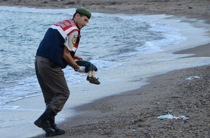 Abdullah Kurdi, father of 3-year-old Aylan and his brother, Galip, age 5, whose drowned bodies both washed up on a Turkish beach.