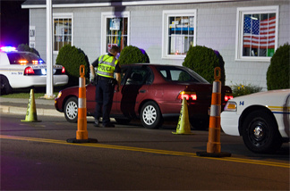 File photo: A DWI Checkpoint in East Haven, Connecticut