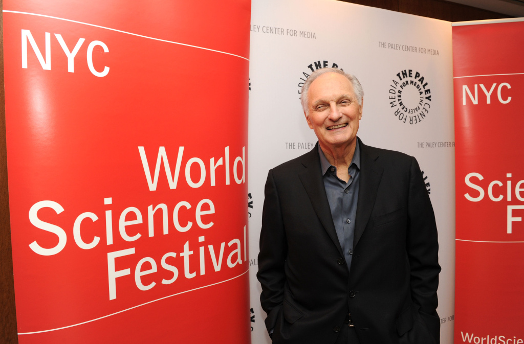 Alan Alda attends Alan Alda's Flame Challenge Announcement at The Paley Center for Media on June 1, 2012 in New York City.