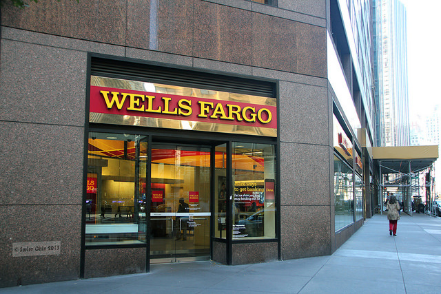 Wells Fargo at Broadway and W 56th Street