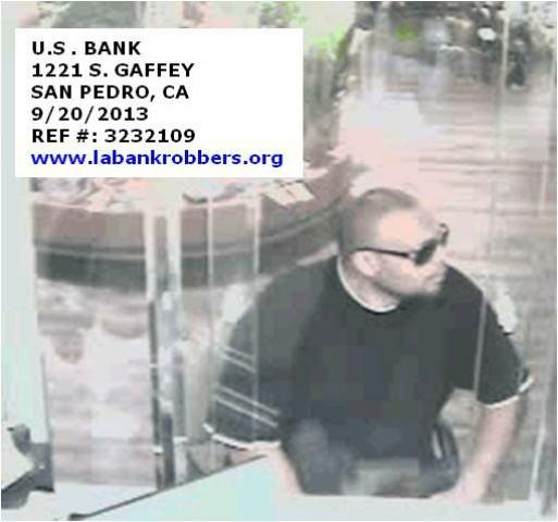 A security camera photo of the Make It Quick bandit.