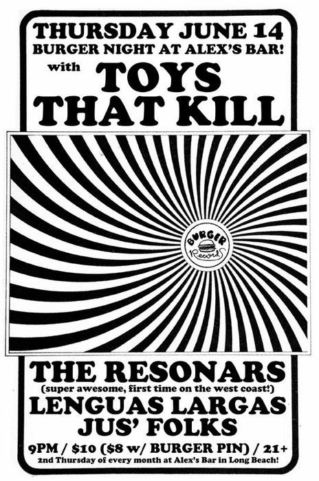 Resonars/Toys that Kill fler