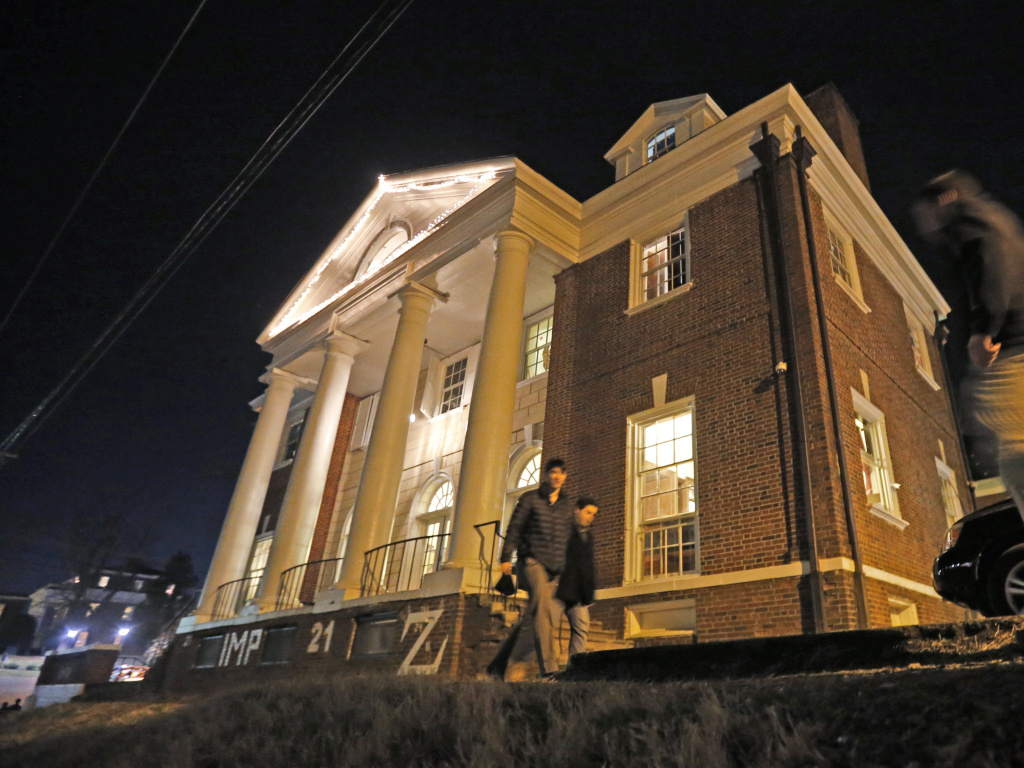 The Phi Kappa Psi house at the University of Virginia in Charlottesville was at the center of rape allegations contained in the <em>Rolling Stone</em> story. The magazine acknowledged that its reporting had been flawed, and the campus ban on the fraternity was subsequently lifted.