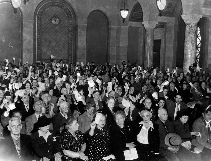 LA City Council chamber in more polite days.