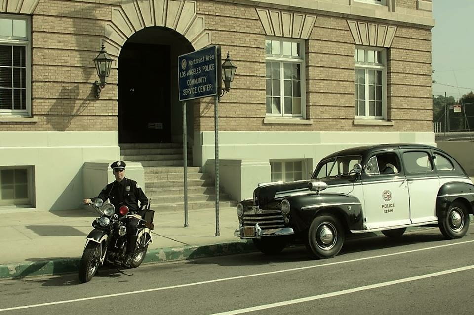 A photograph from the Los Angeles Police Museum in Highland Park.