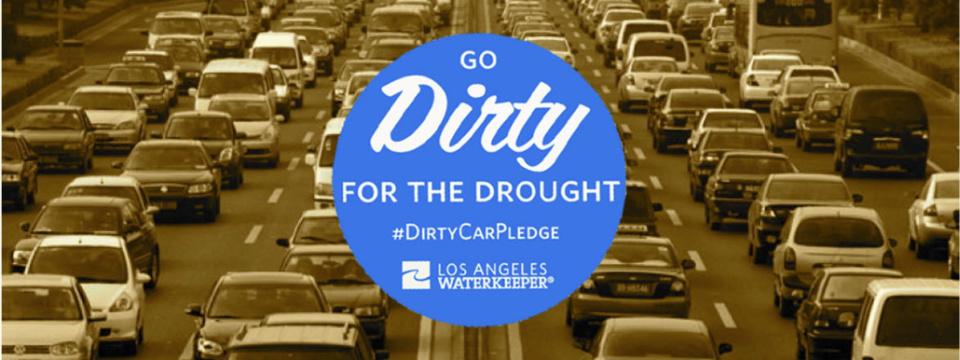 #DirtyCarPledge