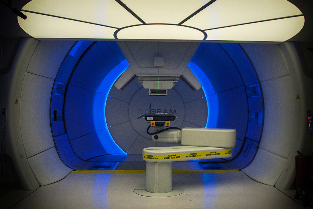 Proton facilities like this one in Baltimore zap cancer with beams of subatomic proton particles instead of using conventional radiation.