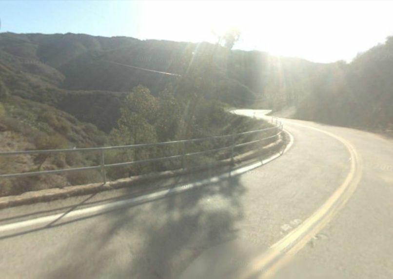 Near 2710 Las Flores Canyon Rd in Malibu, CA.