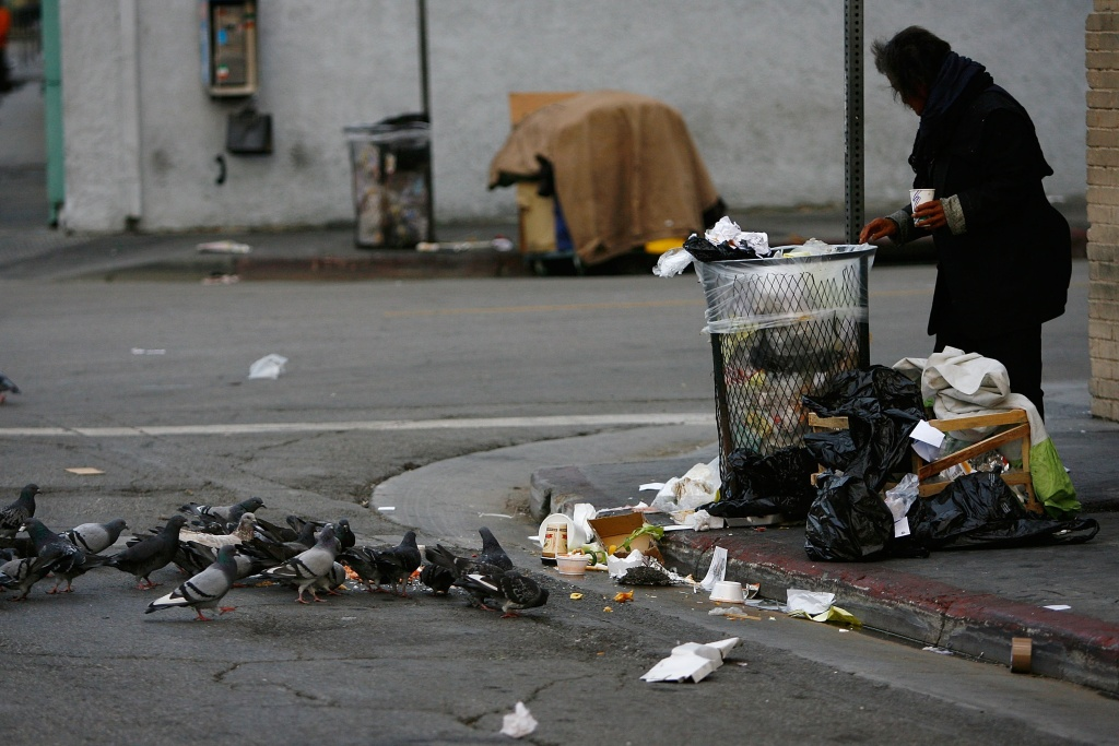 California is ranked number one in the country for acts of violence against homeless people.