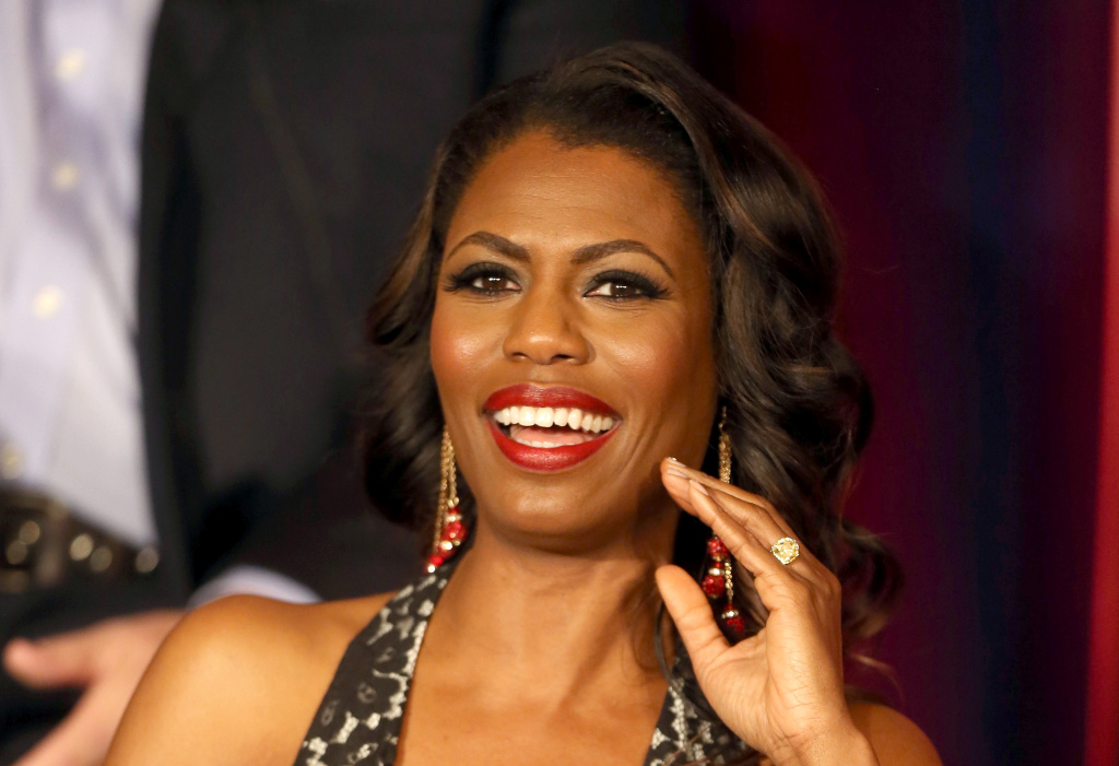 In this file photo, Omarosa Manigault speaks onstage at the