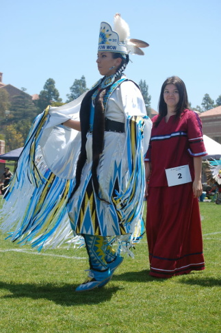 (L-R) Nora Pulskamp and Whitney Bower at the 27th Annual UCLA Powwow