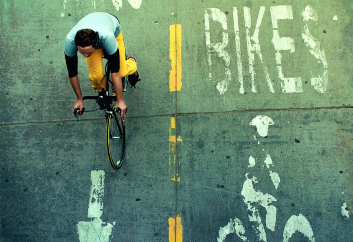bicycle bike lane los angeles