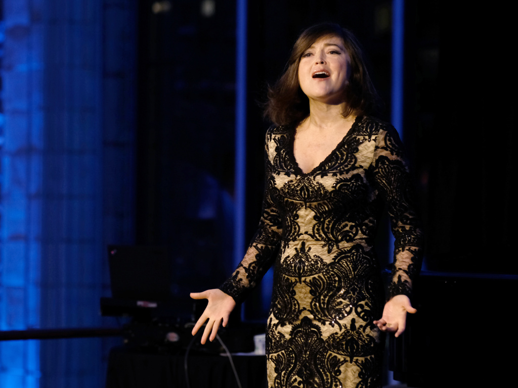 Charity Sunshine Tillemann-Dick performs onstage during the Lung Transplant Project Gala in October 2017 in New York City.