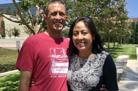 Orange County homeless couple
