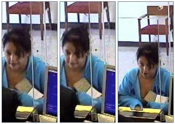 Bank surveillance images of the