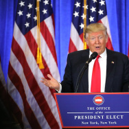 President-Elect Donald Trump Holds Press Conference In New York