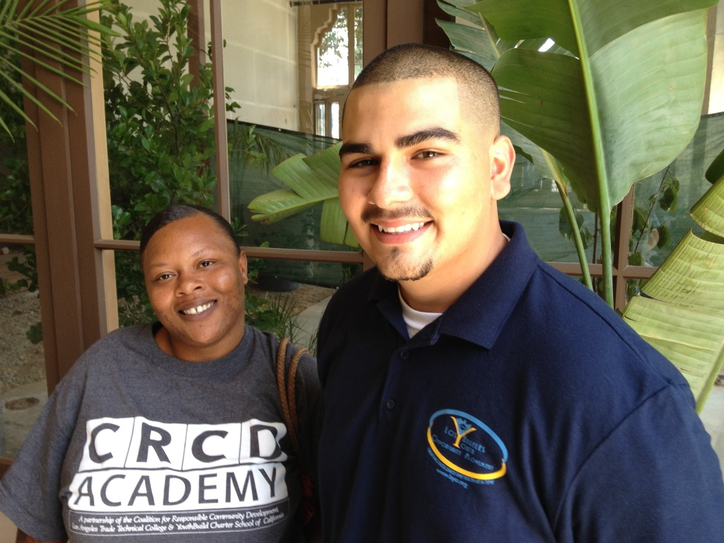Roberta Williams and David Castro sing the praises of L.A.'s summer jobs for youth program.