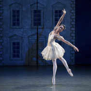 Stella Abrera as Clara, the Princess in Alexei Ratmansky's The Nutcracker.  Photo: Rosalie O'Connor.