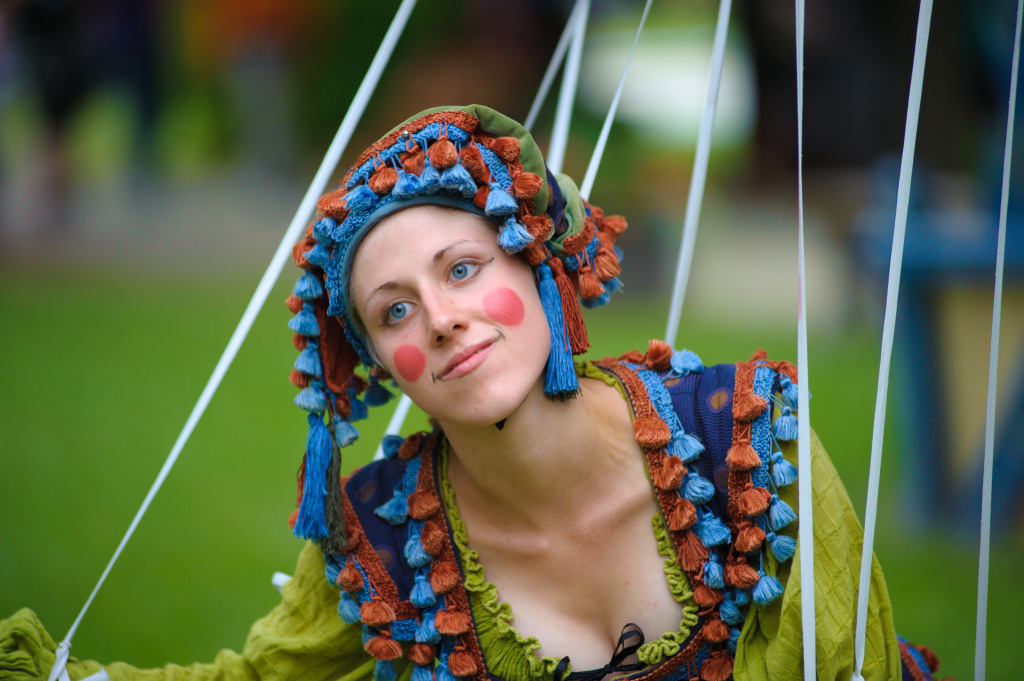 A performer at the 2010 Bristol Renaissance Faire.