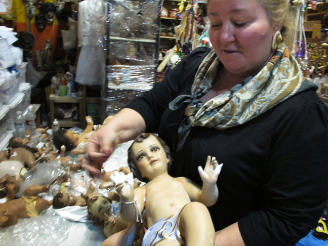 Connie Rivero has repaired baby Jesus' around LA for the past 12 years.
