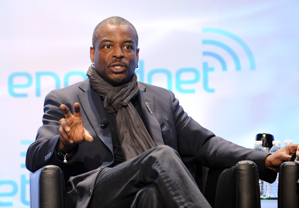 File: LeVar Burton speaks onstage at Engadget Expand NY 2013 at Jacob K. Javits Convention Center on Nov. 9, 2013 in New York City.