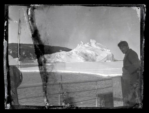 Alexander Stevens on Aurora deck.