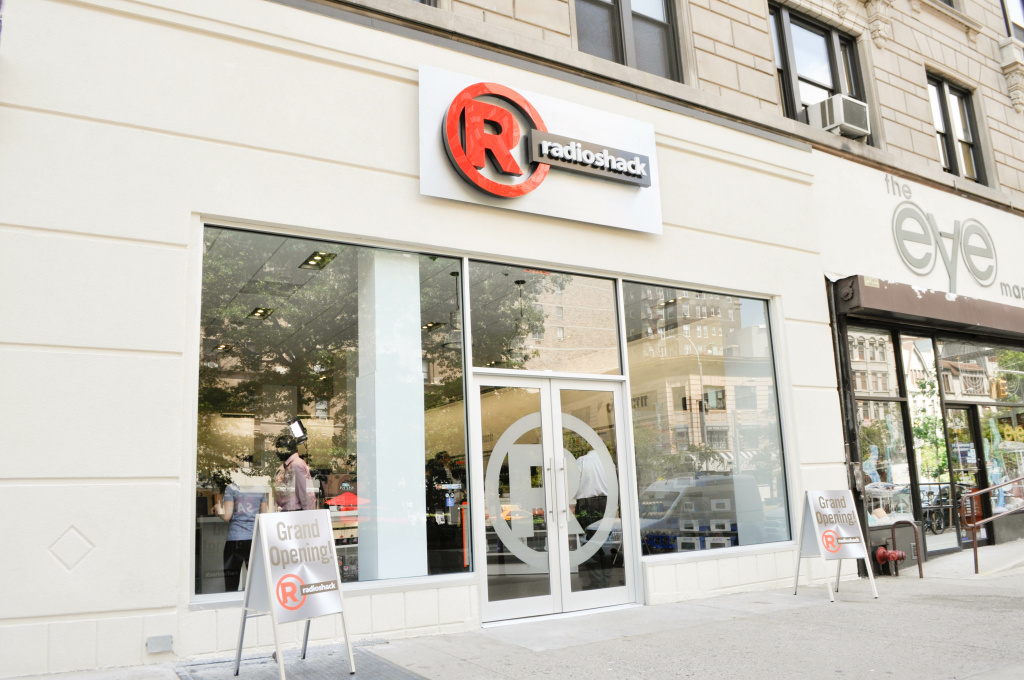 RadioShack said it would close up to 1,100 underperforming stores, as it tries to restructure its business. The company did not name the locations of those stores. RadioShack has tried several strategies to boost its business, including opening new concept stores like the one pictured in New York.