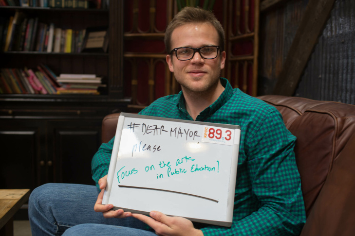 Jacob Shideler tells us what he would like the next mayor of Los Angeles to focus on.