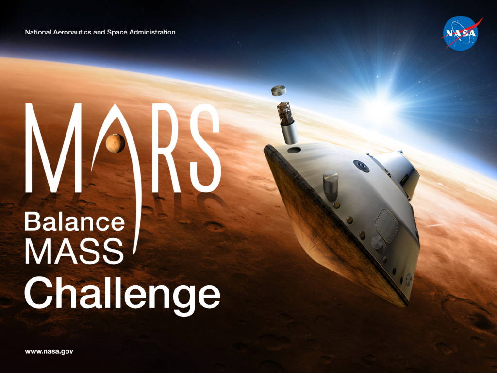 An image showing how balance mass is currently used during the cruise and landing phases of Mars missions.