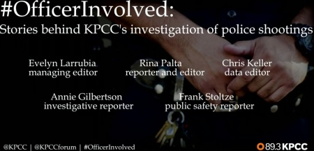 #OfficerInvolved: Stories behind KPCC's investigation of police shootings