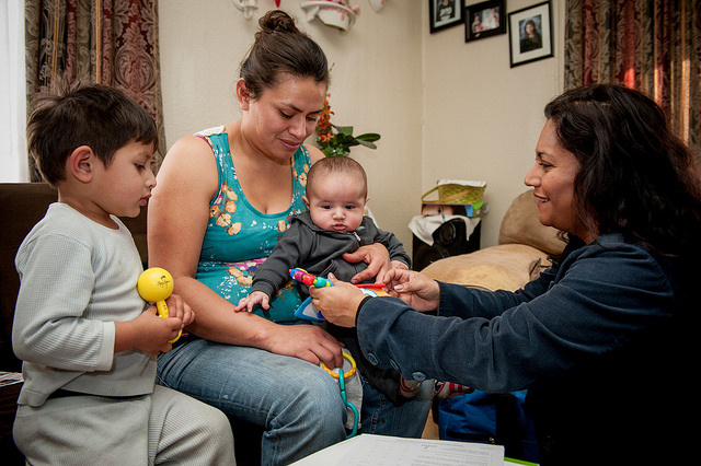audio california considers investing 100 million in home visits