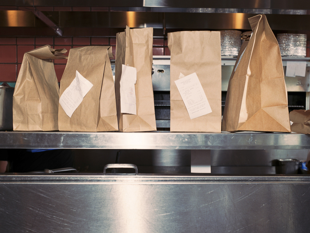 The food service industry is relying on take out and delivery orders to keep businesses afloat and maintain effective social distancing for customers and workers.