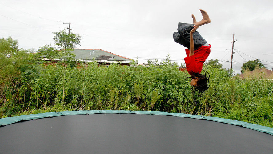 Trampolines used to be mostly about backyard recreation, but now trampoline parks have become increasingly popular.
