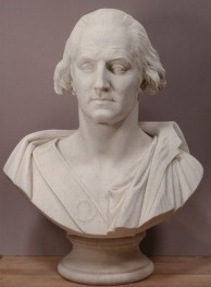 The mysterious George Washington bust in question