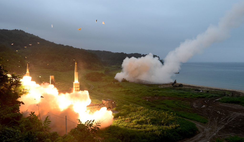 Japan installs missile interceptors as N Korea's Guam threat looms